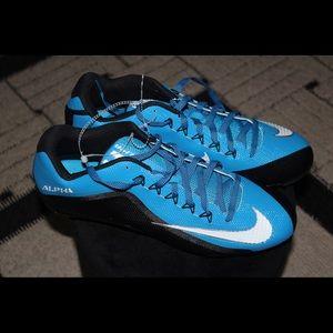 Men Nike Alpha Pro Football Cleats